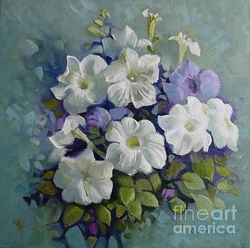 Petunias symphony by Elena Oleniuc