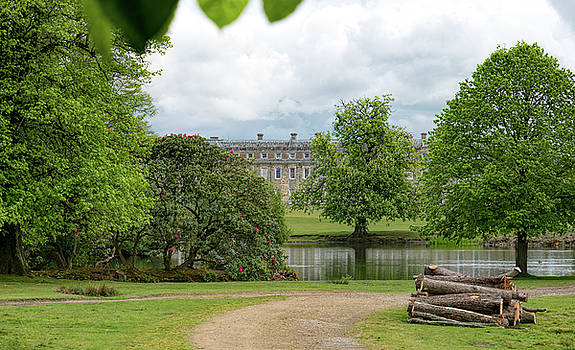 Petworth House on Lake by Michael Hope
