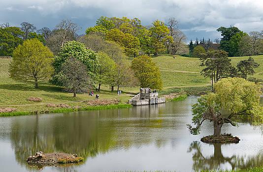 Petworth Lake in April by Michael Hope