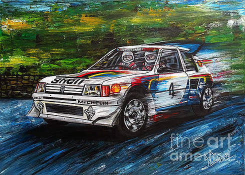 Peugeot 205 T16 by Jose Mendez