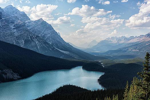 Peyto Lake by Dennis Kowalewski