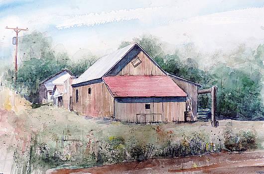 Peyton Barn by Richard Hahn