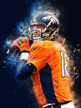 Peyton Manning by Afterdarkness
