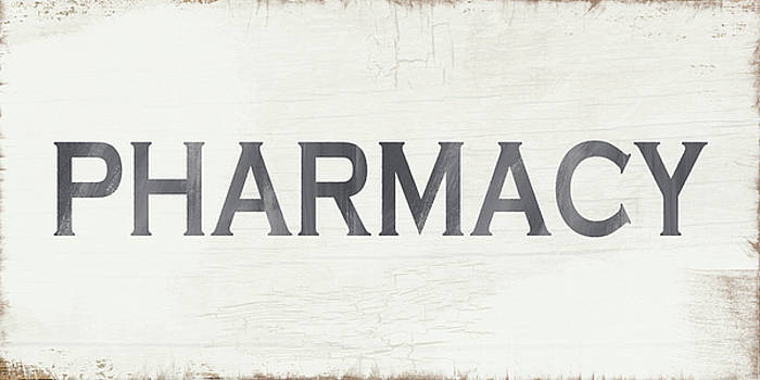 Pharmacy Sign- Art by Linda Woods by