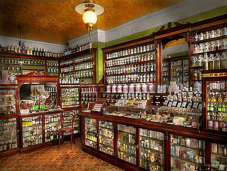 Mike Savad - Pharmacy - The chemist shop of Mr Jones 1907
