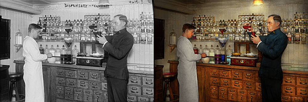 Pharmacy - The mixologist 1905 - Side by Side by Mike Savad