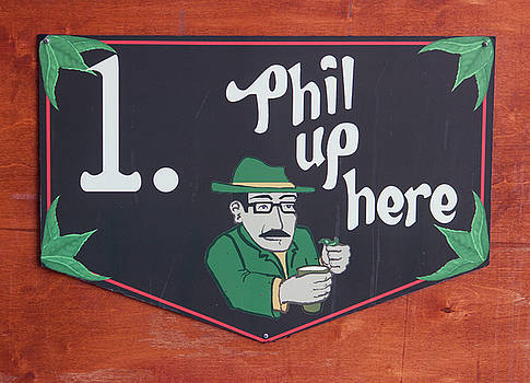 Phil Up Here by Suzanne Gaff