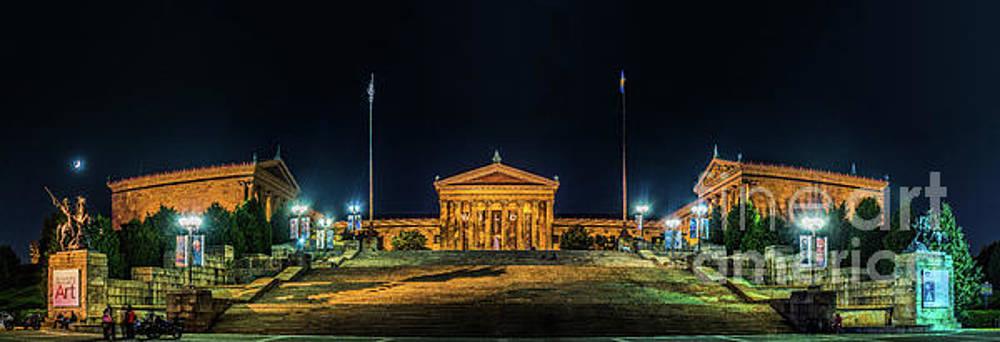 Philadelphia Art Museum Steps by Nick Zelinsky