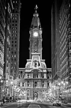 Val Black Russian Tourchin - Philadelphia City Hall at Night