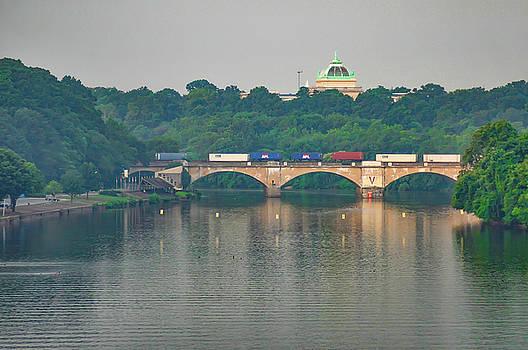 Philadelphia - Columbia Bridge on the Schuylkill River by Bill Cannon