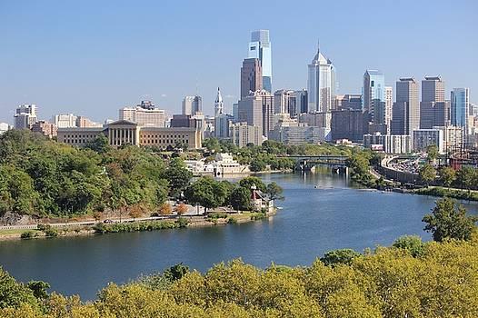 Philadelphia Skyline  by Joscelyn Paine