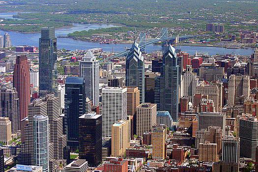 Philadelphia Skyscrapers by Duncan Pearson