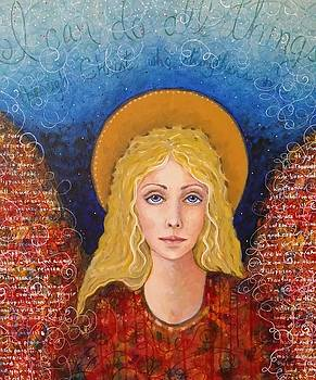 Philippians Angel by Lisa Buchanan
