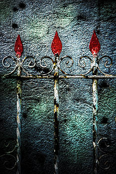 Philippine Gate Detail by Michael Arend
