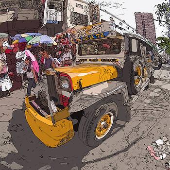 Philippines 1261 Jeepney by Rolf Bertram