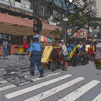 Philippines 906 Crosswalk by Rolf Bertram