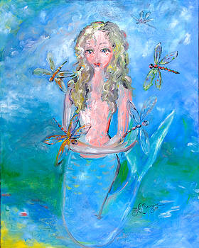 Phillipa's Dragonflies by Theresa LaBrecque
