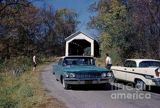 Phillips Covered Bridge, Wabash, Parke County, Indiana by Wernher Krutein