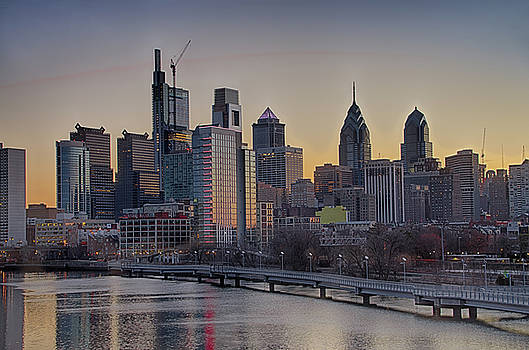 Philly Before Dawn from South Street by Bill Cannon