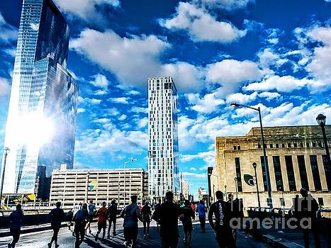 Philly Marathon by Patrick Rodio