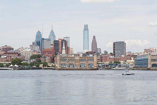 Philly Skyline by Ron Thornton