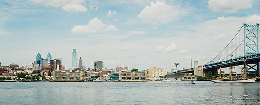 Philly Waterfront by Ron Thornton