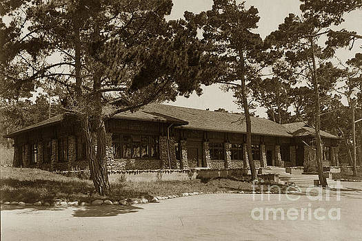 California Views Mr Pat Hathaway Archives - Phoebe A Hearst Social Hall Asilomar Pacific Grove Circa 1925