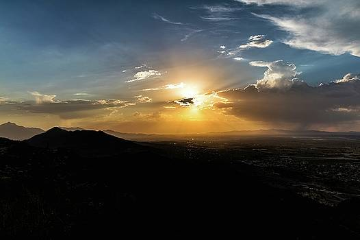 Phoenix Sunset by Mike Dunn