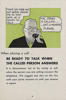 Chicago and North Western Historical Society - Phone Etiquette Employee Manual