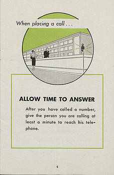 Chicago and North Western Historical Society - Phone Etiquette for Employees