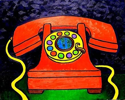 Phone Got Bigger World Smaller by Nick Piliero