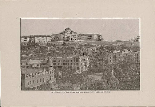 Chicago and North Western Historical Society - Photo of Battle Mountain Sanitarium From 1908 Tour Guide