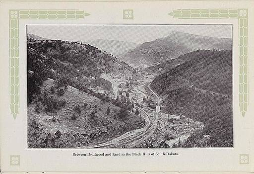 Chicago and North Western Historical Society - Photo of Black Hills From 1915 Travel Brochure