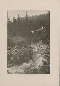 Chicago and North Western Historical Society - Photo of Black Hills Trout Stream from 1908 Tour Guide
