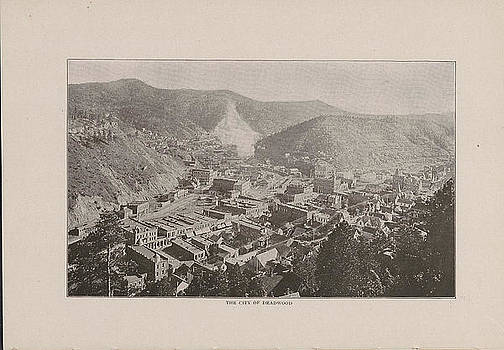 Chicago and North Western Historical Society - Photo of Deadwood From 1908 Black Hills Tour Guide
