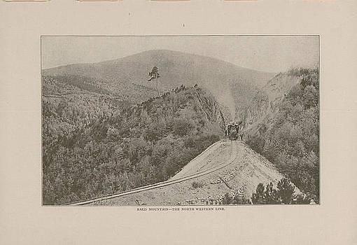 Chicago and North Western Historical Society - Photo of Bald Mountain From 1908 Black Hills Tour Guide