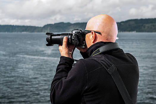 Photographer at Work by Ed Clark