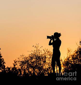 Tim Hester - Photographer Silhouette