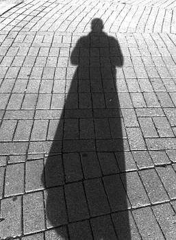 Photographer's Shadow by Mikael Gambitt