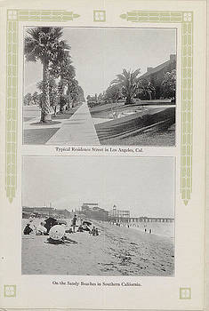 Chicago and North Western Historical Society - Historic View of Los Angeles Beach