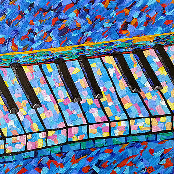 Piano Blues by Michelle Vyn