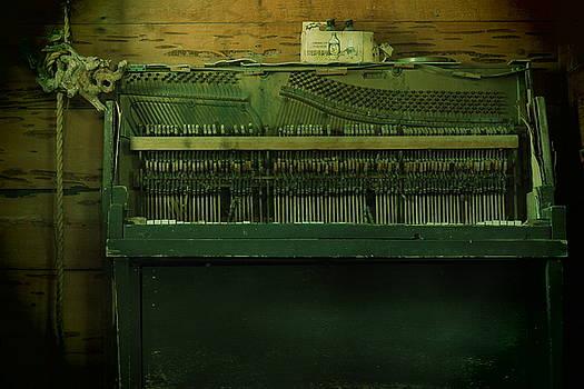 Piano Corpse by Daniel  Walker