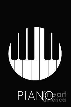 Benjamin Harte - piano in the round