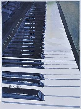 Piano Keys by Spencer Meagher