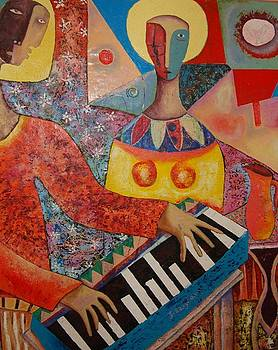 Piano Man by Jacob  Wachira Ezigbo