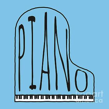Benjamin Harte - Piano on blue