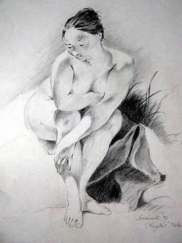 Piazetta's nude study by Sreekanth Anki