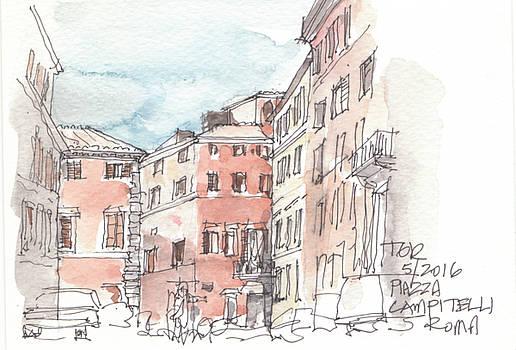 Thomas Rankin - Piazza Campitelli