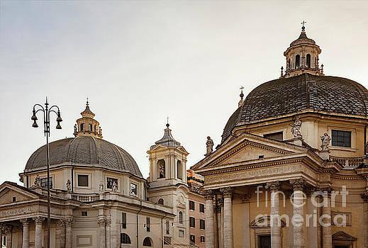 Sophie McAulay - Piazza del Popolo churches
