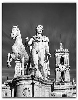 Piazza del Quirinale in Rome by Stefano Senise
